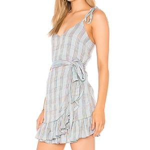 Majorelle Wrap Dress
